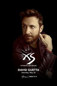 David Guetta at XS Nightclub