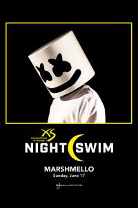 Marshmello - Nightswim at XS Nightclub