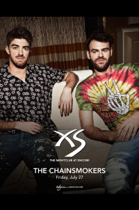 The Chainsmokers at XS Nightclub