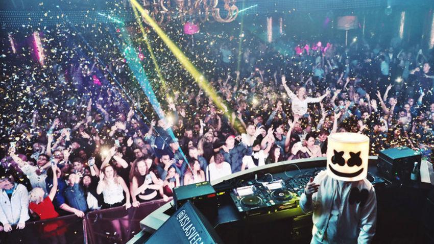 Marshmello at XS Nightclub