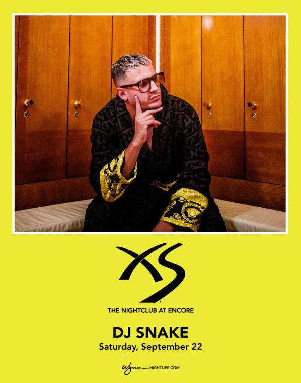 XS Nightclub | DJ Snake Tickets