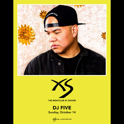 DJ Five, Sunday, October 14th, 2018
