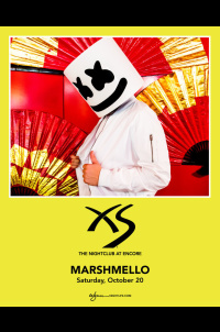 Marshmello at XS Nightclub