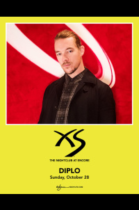 Diplo at XS Nightclub