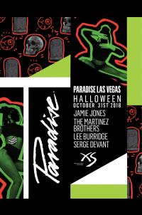 Paradise - Halloween at XS Nightclub