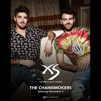 The Chainsmokers, Saturday, November 3rd, 2018