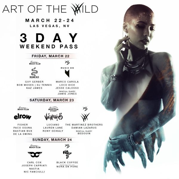 Art of The Wild - Three Day Pass