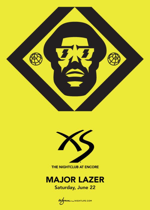 XS Nightclub | Major Lazer Tickets