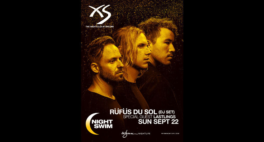 RÜFÜS DU SOL (DJ Set) - Nightswim at XS Nightclub