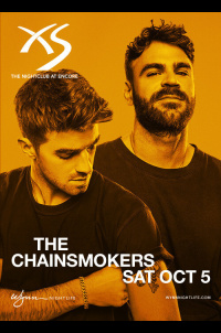 The Chainsmokers at XS Nightclub