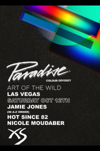 Paradise - Jamie jones, Hot Since 82, Nicole Moudaber, Chris Garcia at XS Nightclub