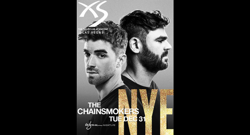New Year's Eve with The Chainsmokers at XS Nightclub