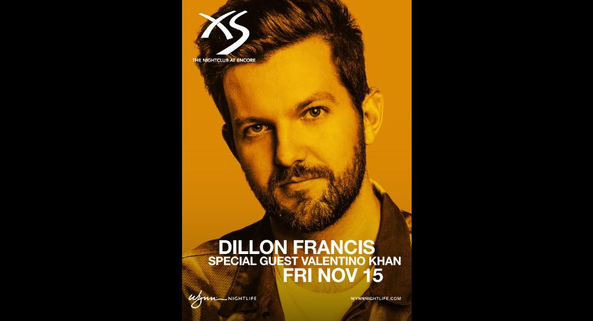 Dillon Francis with Special Guest Valentino Khan at XS Nightclub