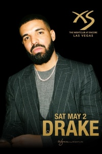 DRAKE at XS Nightclub