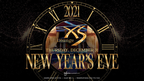 New Year's Eve at XS Lounge