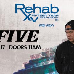 Rehab Beach Club   DJ Five