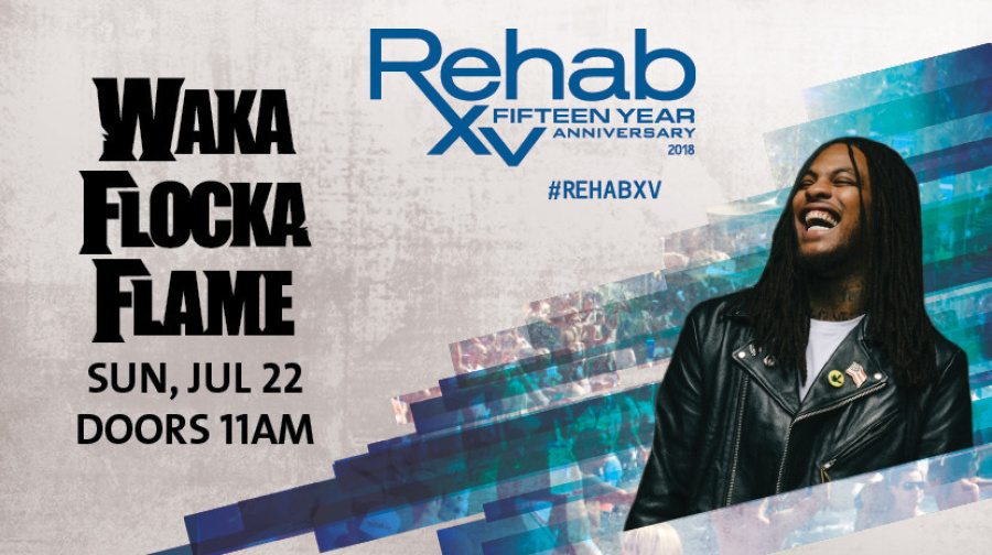 Rehab Beach Club | Waka Flocka