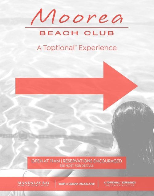 Toptional Experience - Moorea Beach Club