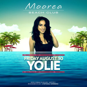 YOLIE, Friday, August 30th, 2019