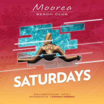 Saturday's at Moorea Beach Club - Sat Jul 4