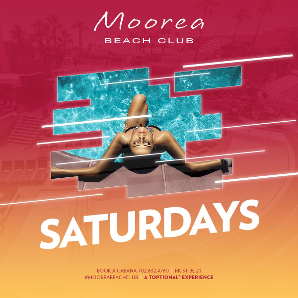 Saturday's at Moorea Beach Club