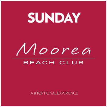 Sunday's at Moorea Beach Club - Sun Jul 5