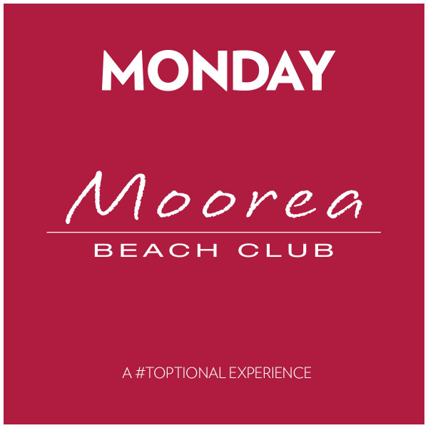 Monday's at Moorea Beach Club