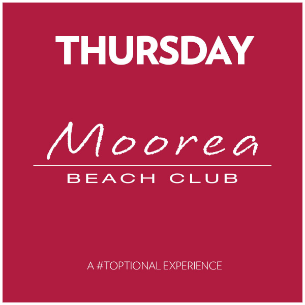 Thursday's at Moorea Beach Club