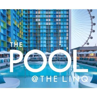 The Pool at LINQ, Monday, October 15th, 2018