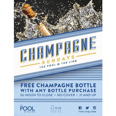 Champagne Sunday's, Sunday, October 7th, 2018