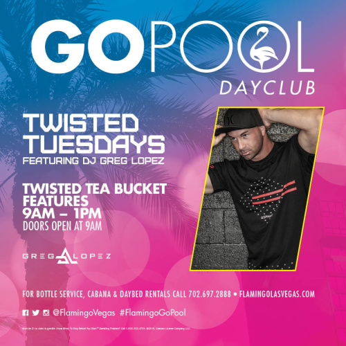 TWISTED TUESDAY - GO Pool