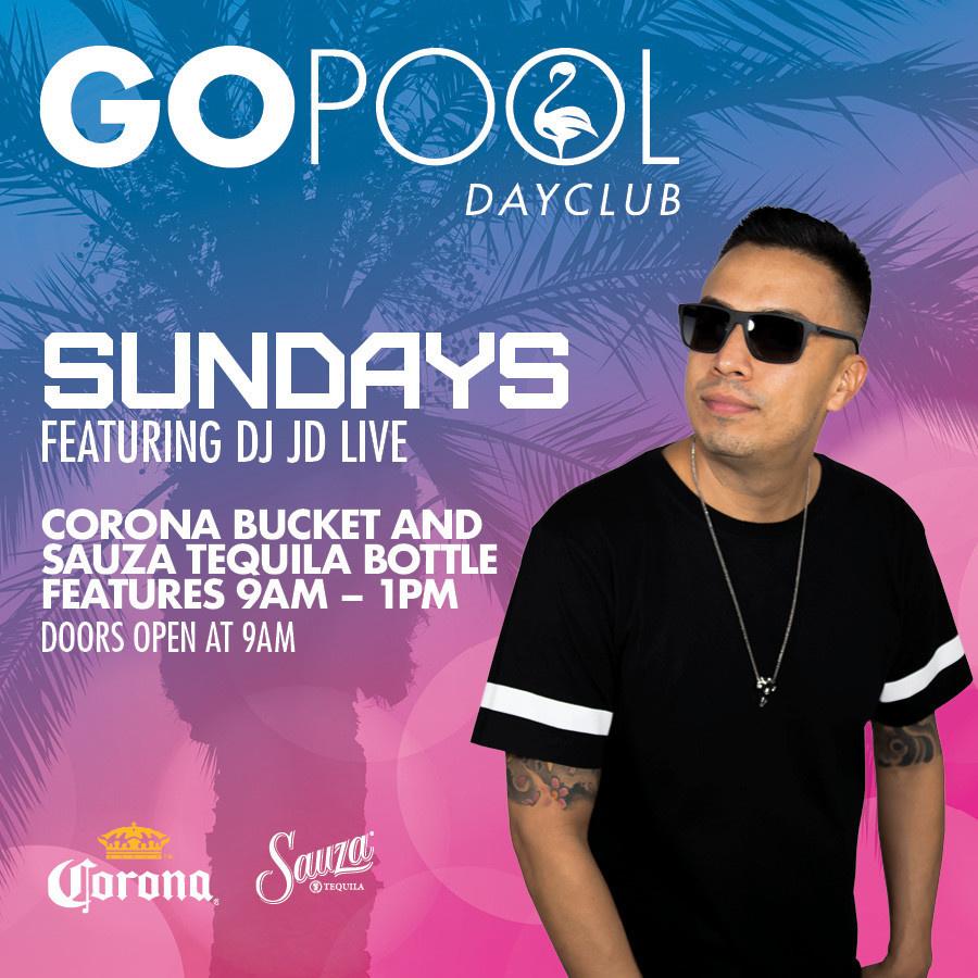 GO SUNDAYS   Event   Go Pool Flamingo Las Vegas