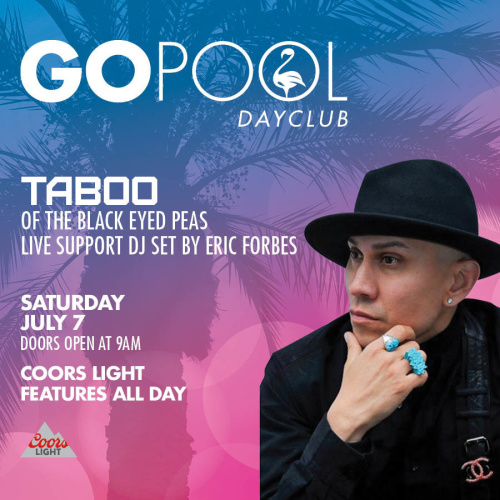 #DAYBEATS FEATURING TABOO OF THE BLACK EYED PEAS - GO Pool
