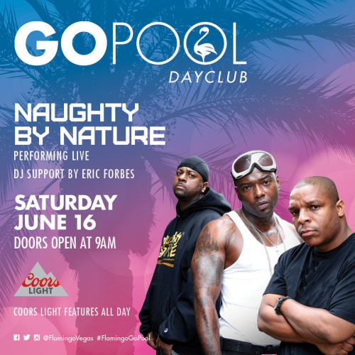 #DAYBEATS FEATURING A LIVE PERFORMANCE BY NAUGHTY BY NATURE - GO Pool