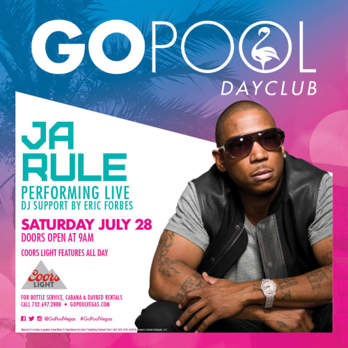 #DAYBEATS FEATURING A LIVE PERFORMANCE BY JARULE - GO Pool