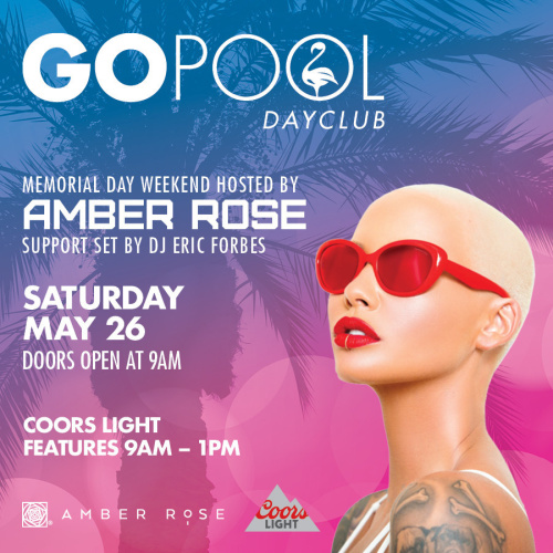#DAYBEATS HOSTED BY AMBER ROSE - GO Pool