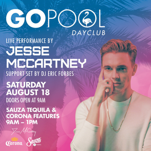#DAYBEATS FEATURING A LIVE PERFORMANCE BY JESSE MC CARTNEY - GO Pool