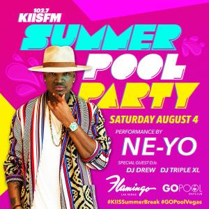 LA's KISS FM POOL PARTY FEATURING A LIVE PERFORMANCE BY NE-YO