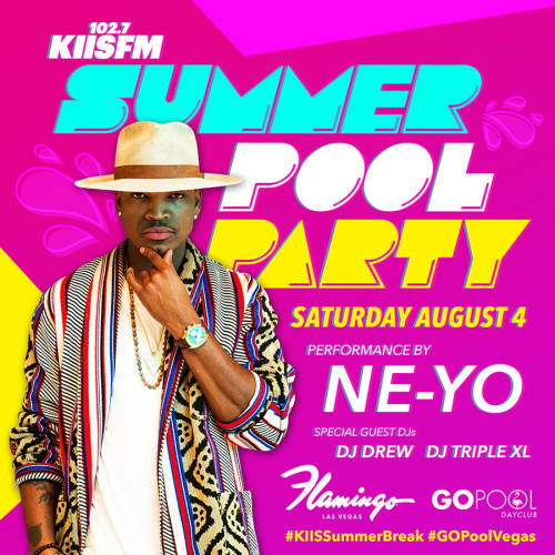 LA's KISS FM POOL PARTY FEATURING A LIVE PERFORMANCE BY NE-YO - GO Pool