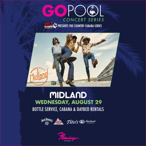 MIDLAND CONCERT POOLSIDE AT GO POOL - GO Pool