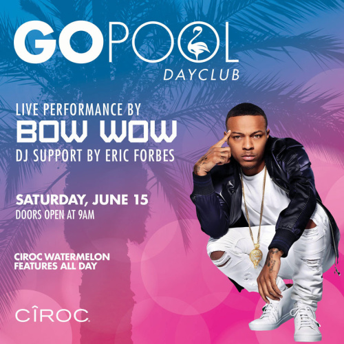 #DAYBEATS FEATURING ALIVE PERFORMANCE BY BOW WOW - GO Pool
