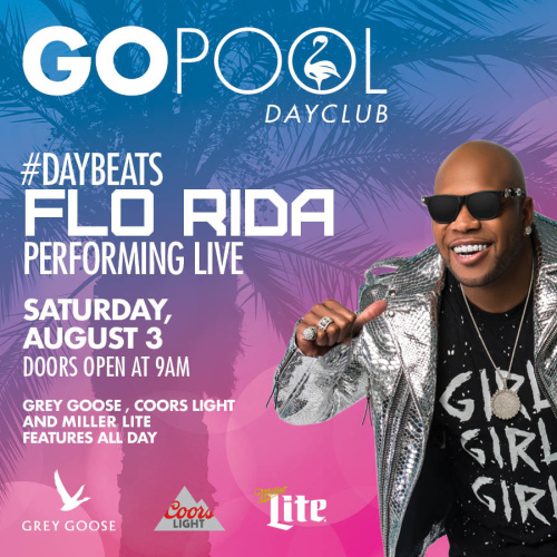 #DAYBEATS FEATURING FLO RIDA - GO Pool