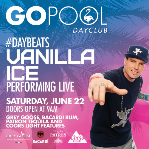 #DAYBEATS FEATURING A LIVE PERFORMANCE BY VANILLA ICE - GO Pool