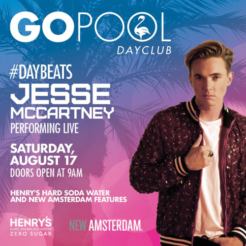 #DAYBEATS FEATURING A LIVE PERFORMANCE BY JESSE MCCARTNEY - GO Pool