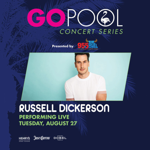 COUNTRY CONCERT SERIES FEATURING RUSSELL DICKERSON - GO Pool