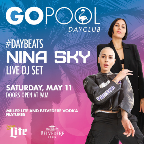 #DAYBEATS FEATURING LIVE DJ SET BY NINA SKY - GO Pool