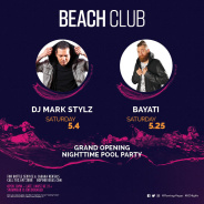 BEACH CLUB NIGHT TIME POOL PARTY 21+