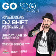 SPLASH SUNDAYS FEATURING DJ SHIFT
