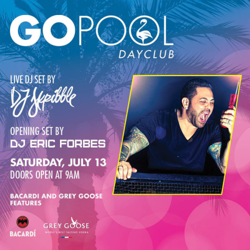 #DAYBEATS FEATURING DJ SKRIBBLE - GO Pool