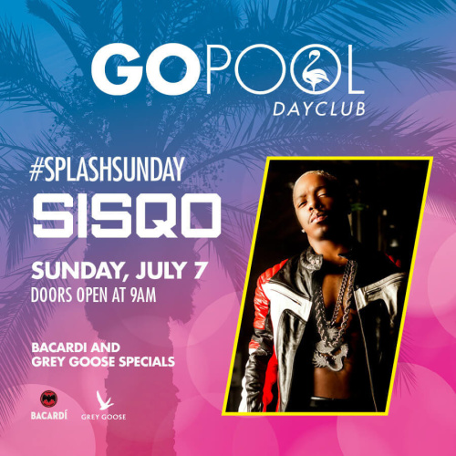 SPLASH SUNDAY FEATURING A LIVE PERFORMANCE BY SISQO - GO Pool